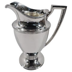 Classic Tiffany Sterling Silver Water Pitcher