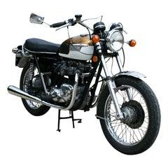 Classic Triumph Bonneville Motorcycle, T120R, 650cc