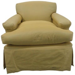 Classic Upholstered Club Chair II