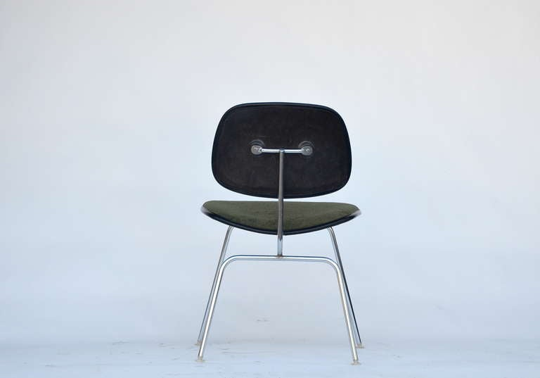Late 20th Century Classic Vintage Charles and Ray Eames for Herman Miller DCM Chair For Sale