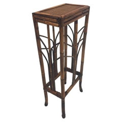 Classic Vintage Tall Bamboo Pedestal