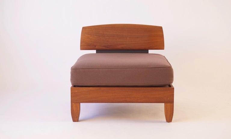 American Classic Walnut Club Chair by Chris Lehrecke For Sale