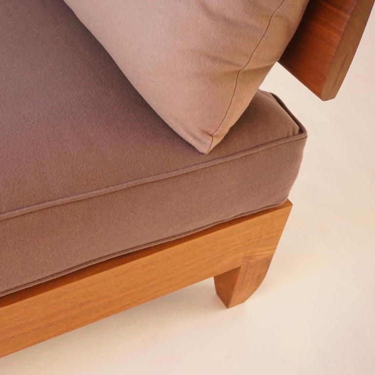 Blackened Classic Walnut Club Chair by Chris Lehrecke For Sale