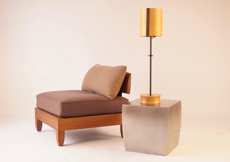 Classic Walnut Club Chair by Chris Lehrecke For Sale 1