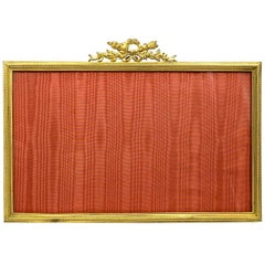 Classical Antique French Gilt Bronze Louis XVI Style Picture Frame, Wide Format
