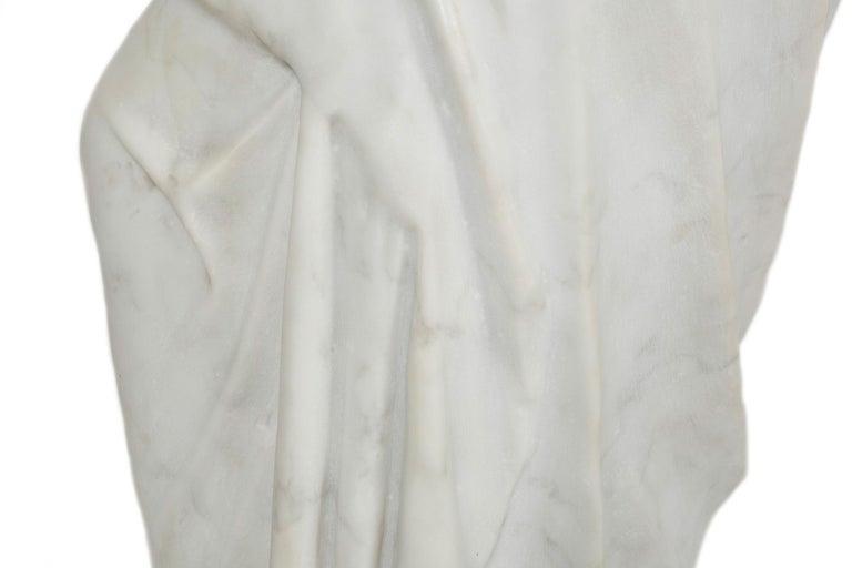 Classical Antique Marble Sculpture of Statue