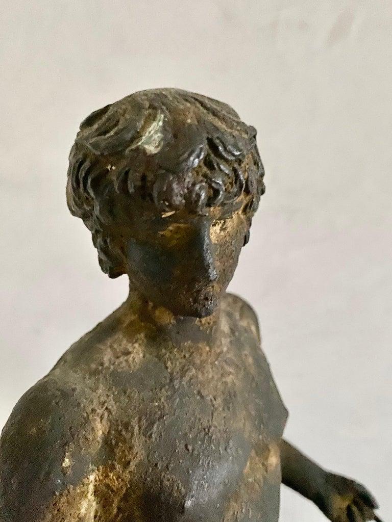 Classical Bronze Male Nude Sculpture For Sale 10