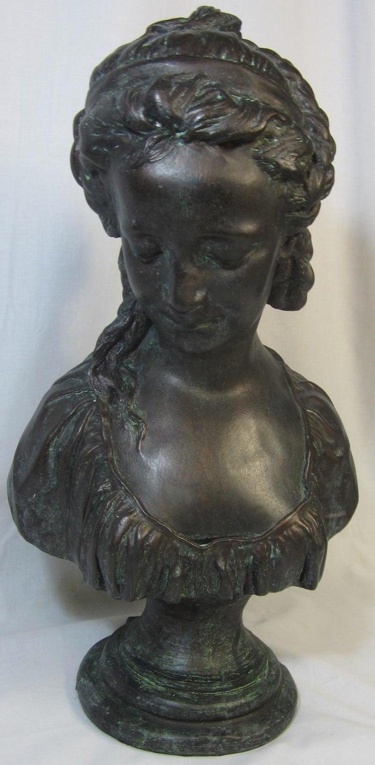 Australian Classical Bust, La Chercheuse d'esprit For Sale