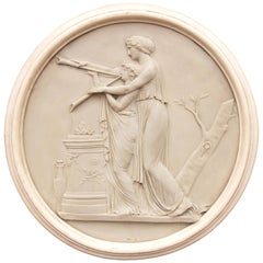 Classical Greek Architectural Roundel Sculpture