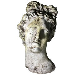 Classical Greek Statue Planter of Alexander the Great