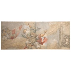 Classical Painted Panels by Ubaldo Della Volpe