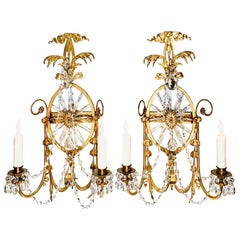 Classical Regency Style Pair of Caldwell Sconces, circa 1920s