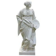 Classical Stoneware Figure