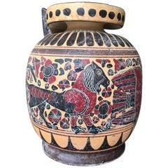 Classical Style Ceramic Greek Vase