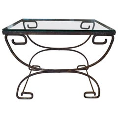 Classical Style Wrought Iron Table