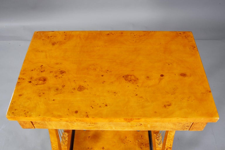 Classical Work Table in Vienna Biedermeier Style For Sale 2