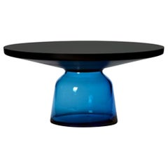 ClassiCon Bell Coffee Table in Black and Sapphire Blue by Sebastian Herkner
