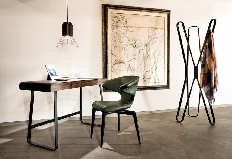 Modern ClassiCon Bell Light Pendant Lamp in Grey Copper Cage by Sebastian Herkner For Sale
