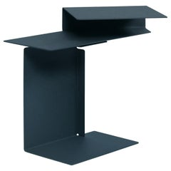 Classicon Black Diana E side Table designed by Konstantin Grcic