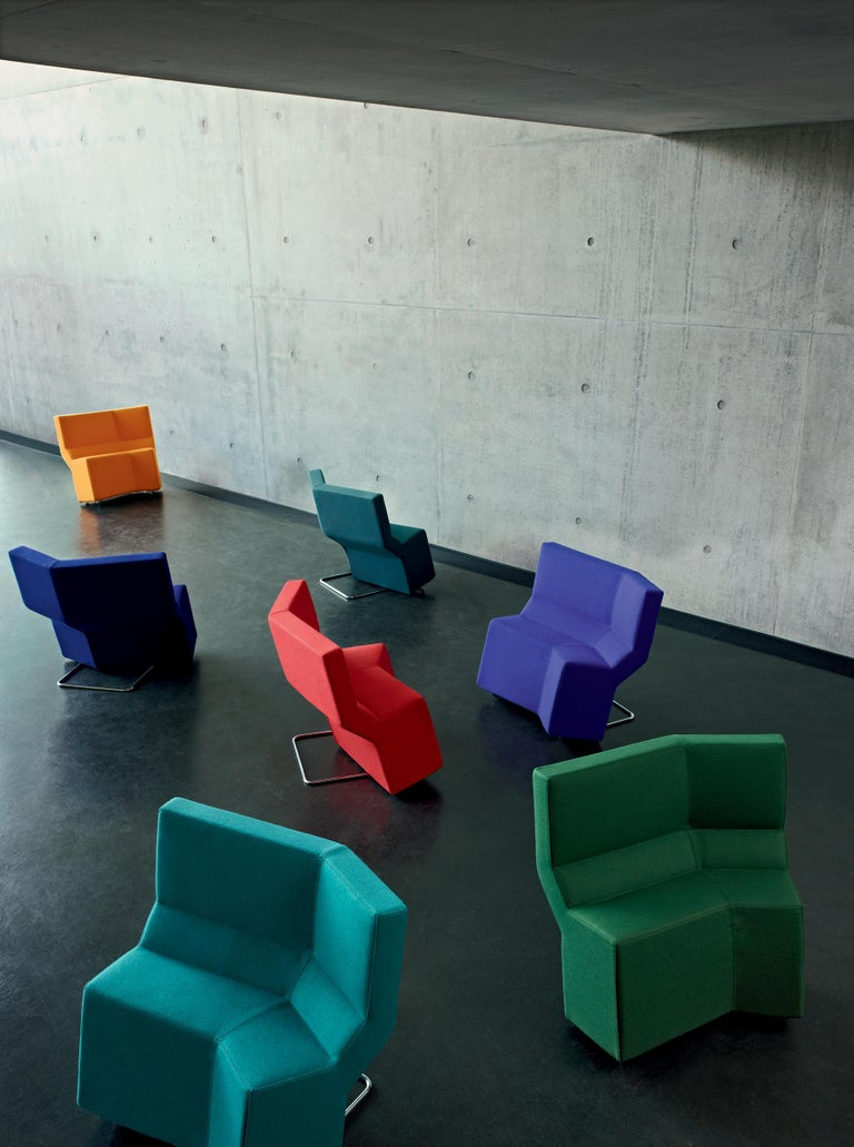German ClassiCon Chaos Chair in Fabric by Konstantin Grcic For Sale