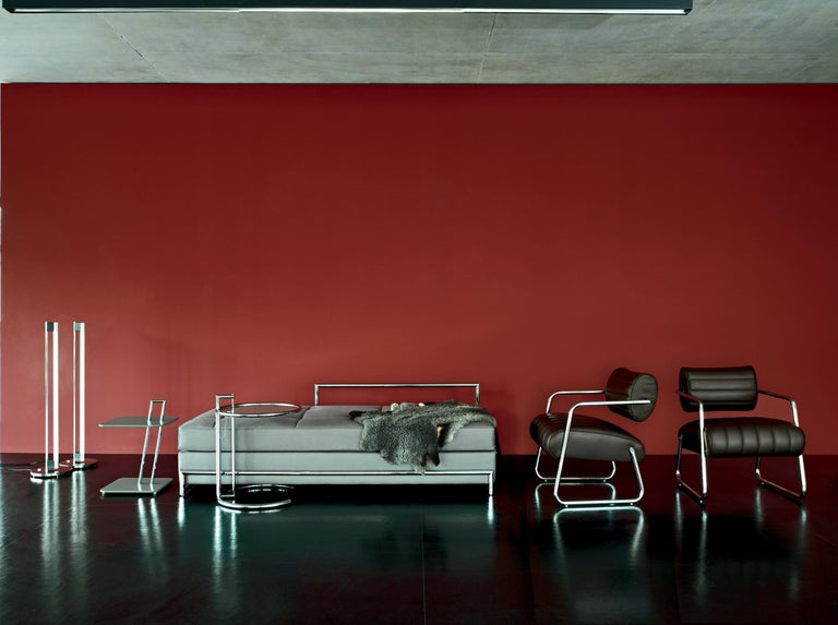 German ClassiCon Daybed Grand in Fabric by Eileen Gray For Sale