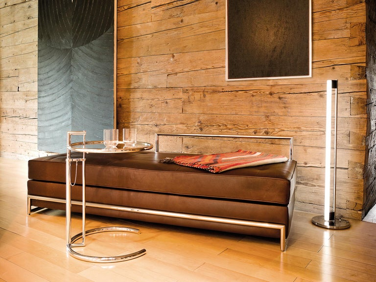 Modern ClassiCon Daybed in Leather by Eileen Gray For Sale