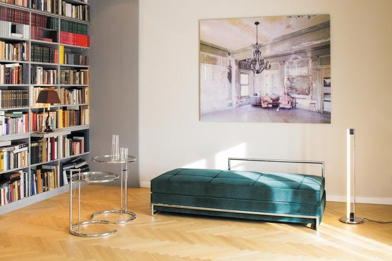 ClassiCon Daybed in Leather by Eileen Gray For Sale 2