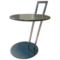 ClassiCon Grey Round Occasional Table Designed by Eileen Gray