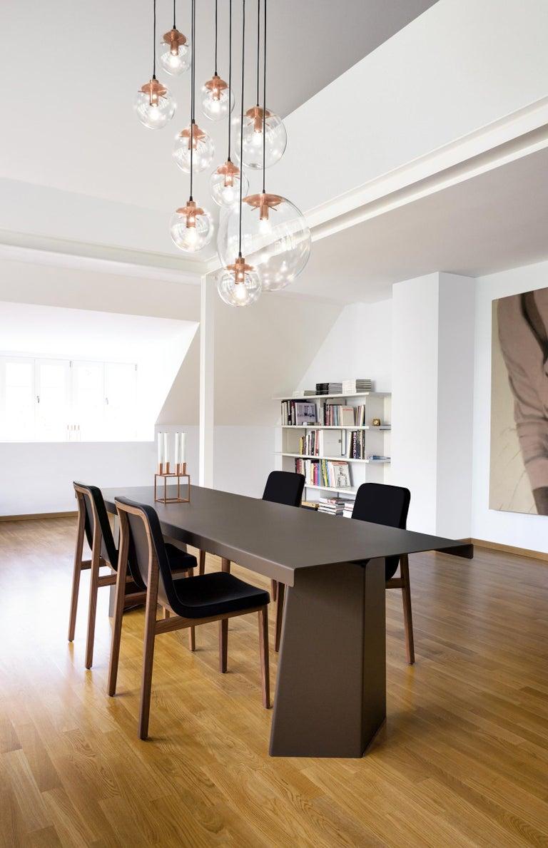Modern ClassiCon Large Selene Pendant Lamp in Brass by Sandra Lindner For Sale