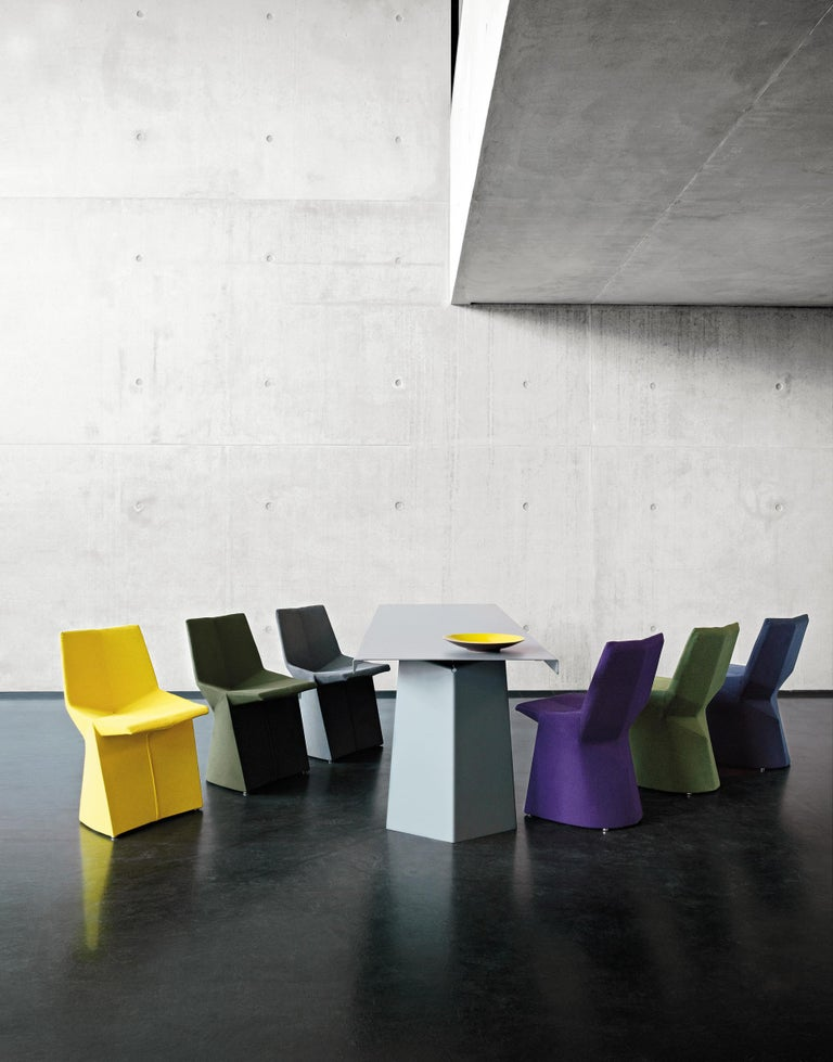 Modern ClassiCon Mars Chair in Black by Konstantin Grcic For Sale