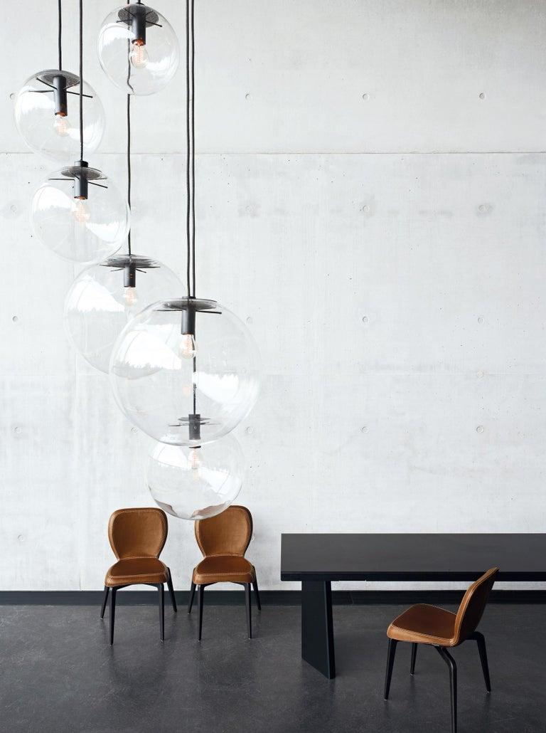 German ClassiCon Medium Selene Pendant Lamp in Brass by Sandra Lindner For Sale