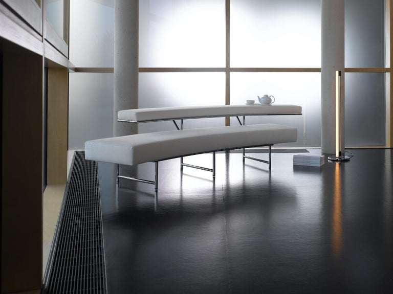 ClassiCon Monte Carlo Sofa in Leather and Chrome by Eileen Gray For Sale 1
