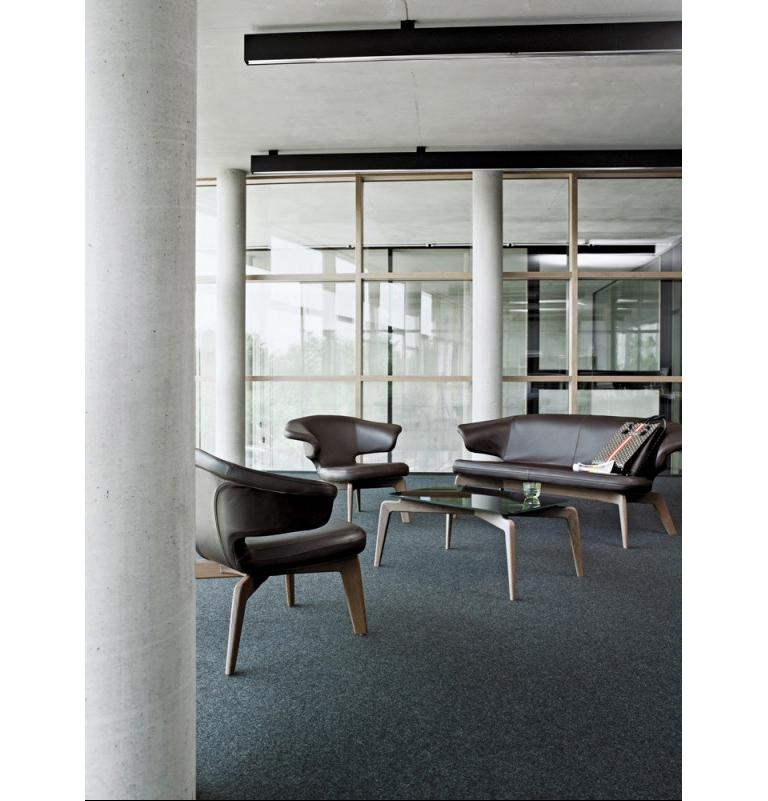 Modern ClassiCon Munich Sofa in Leather by Sauerbruch Hutton For Sale