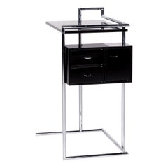 ClassiCon Petite Coiffeuse Metal Sideboard Black Dressing Table Dressing Table