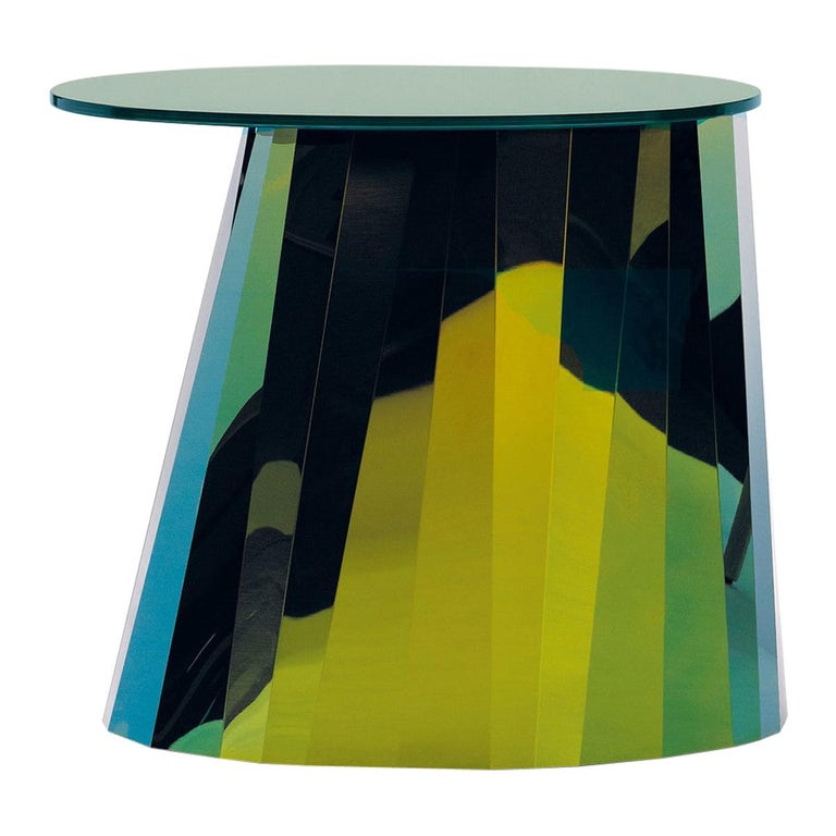 ClassiCon Pli Low Side Table in Green by Victoria Wilmotte For Sale