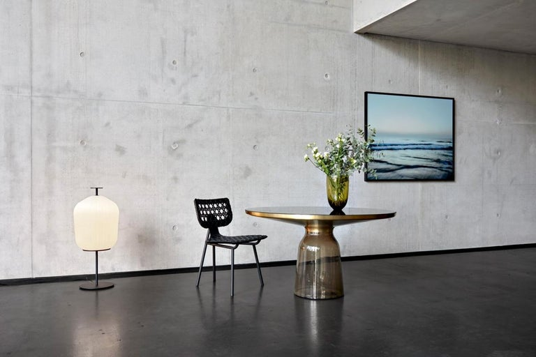 Contemporary ClassiCon Plissée Floor Lamp by Sebastian Herkner For Sale