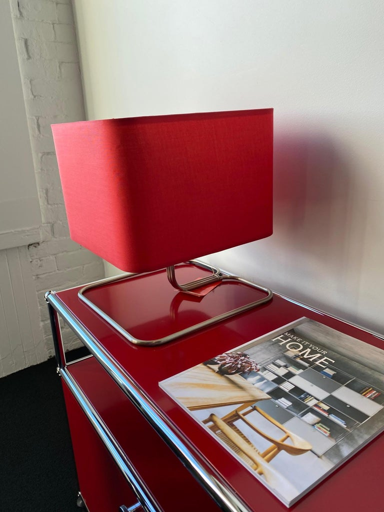 ClassiCon Red Lampetia Table Lamp In Excellent Condition For Sale In New York, NY