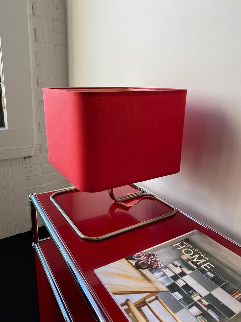 Contemporary ClassiCon Red Lampetia Table Lamp For Sale