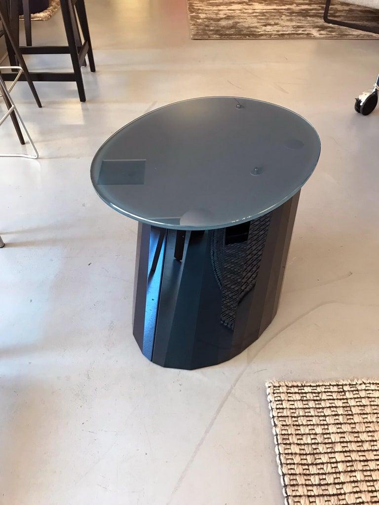 Modern ClassiCon Sapphire Blue Pli Table