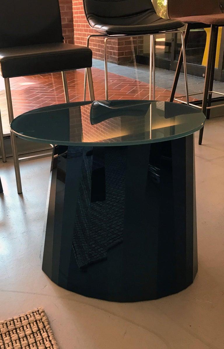 ClassiCon Sapphire Blue Pli Table In Excellent Condition In New York, NY