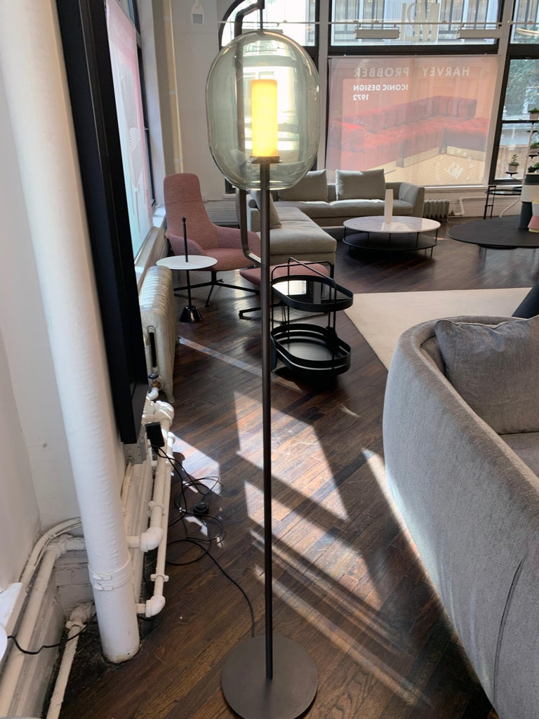 ClassiCon Set of Two  Lantern Light Floor Lamps For Sale 4