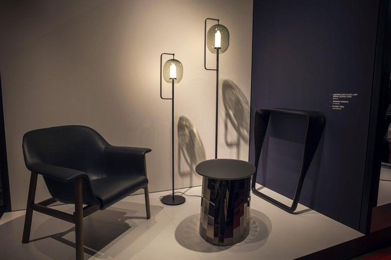 ClassiCon Set of Two  Lantern Light Floor Lamps In Good Condition For Sale In New York, NY