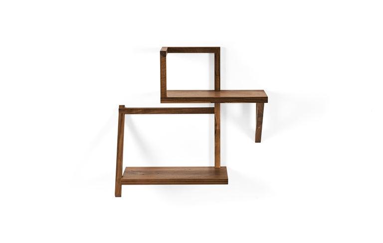 Modern ClassiCon Taidgh Shelf B in Walnut by Taidgh O'Neill For Sale