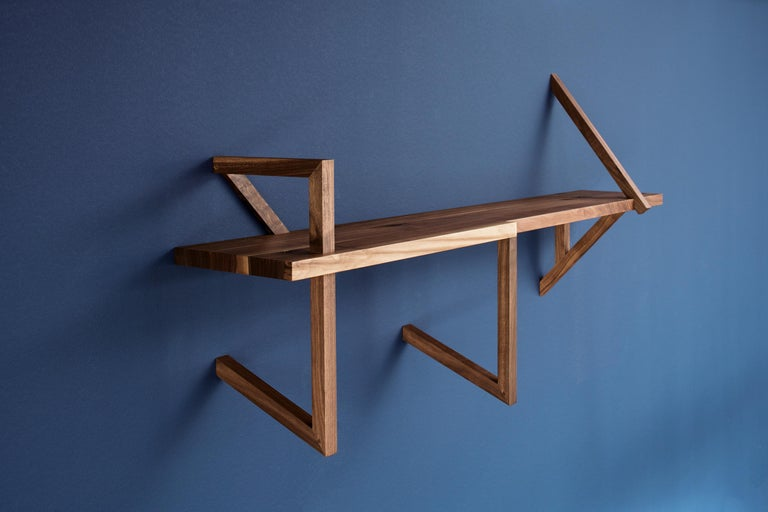 German ClassiCon Taidgh Shelf D in Walnut by Taidgh O'Neill For Sale