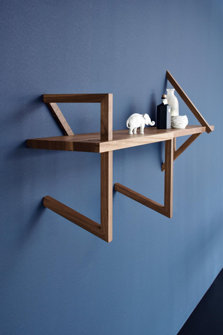 ClassiCon Taidgh Shelf D in Walnut by Taidgh O'Neill In New Condition For Sale In New York, NY