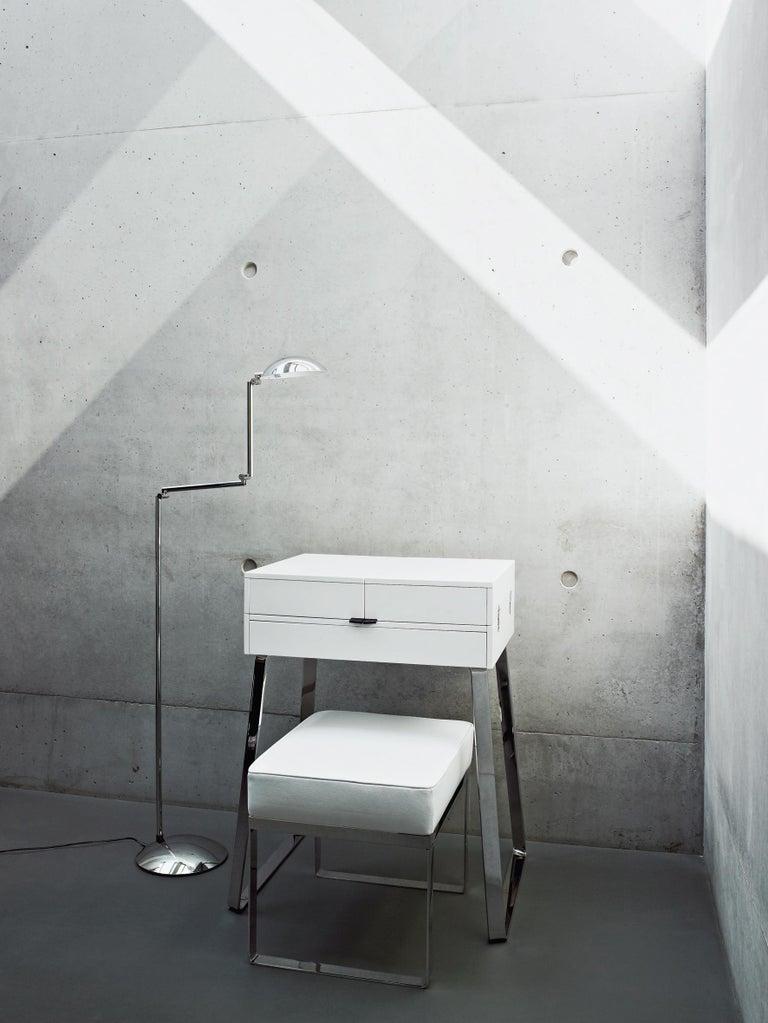 Modern ClassiCon Zelos Fold-Out Secretary Desk in Walnut by Christoph Böninger For Sale