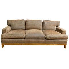 Classy Custom Jean Michael Frank Style Sofa