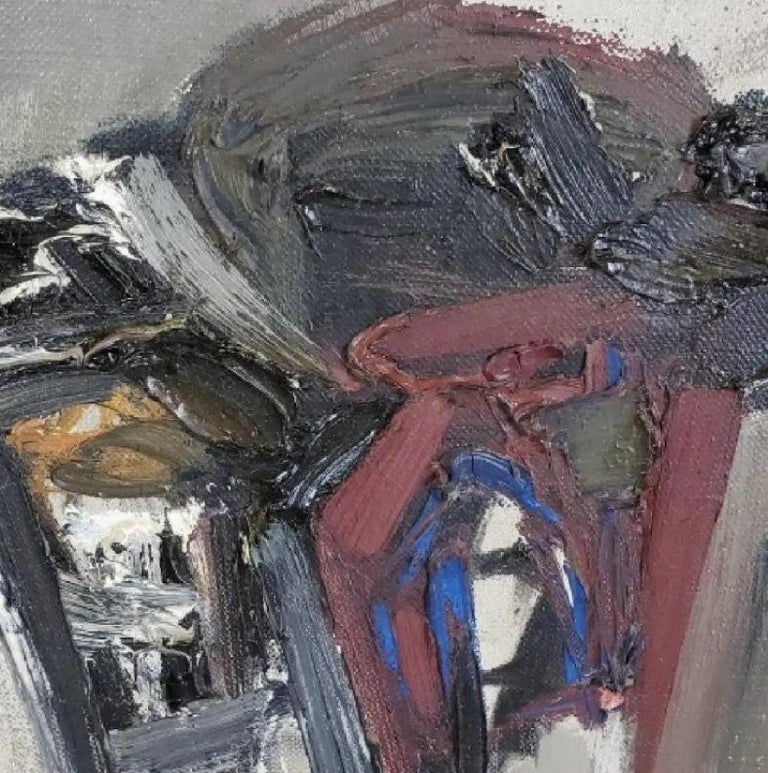 Composition 61 - Abstract Expressionist Painting by Claude Bentley