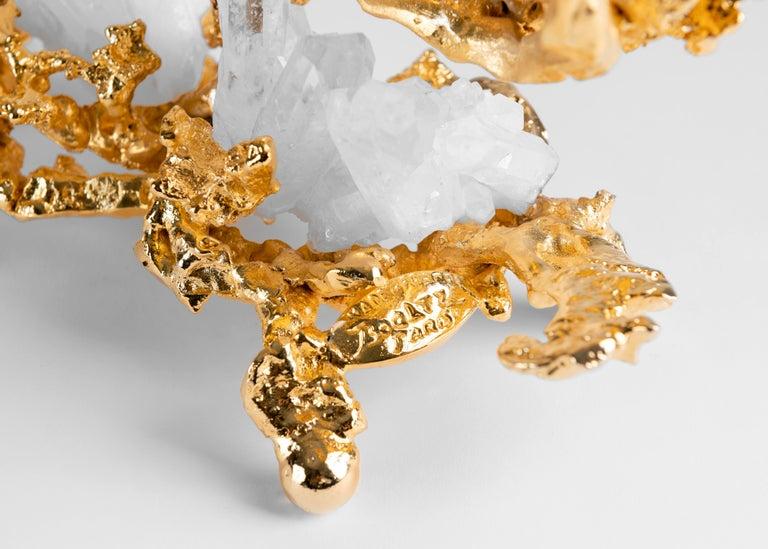 Claude Boeltz, Bronze Eclaté Candelabrum, United States, 2019 In Good Condition For Sale In New York, NY