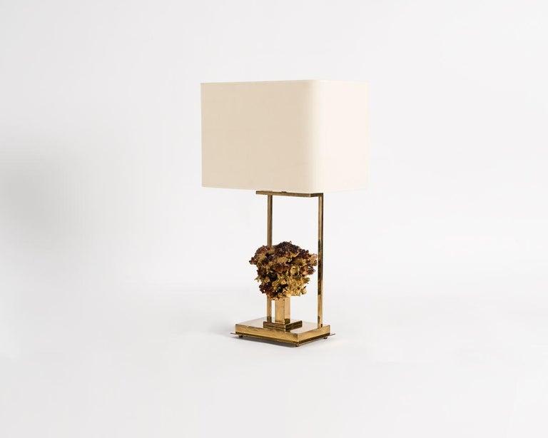 Cast Claude Boeltz, Bronze Eclaté Table Lamp, France, circa 1970 For Sale